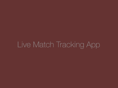 Live Match App